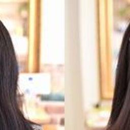 画像 黒髪のハリのある髪をACCとスピエラで柔らか矯正 の記事より 9つ目