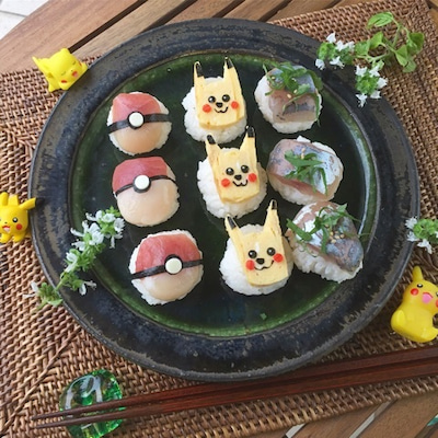 ポケモン手まり寿司の記事に添付されている画像