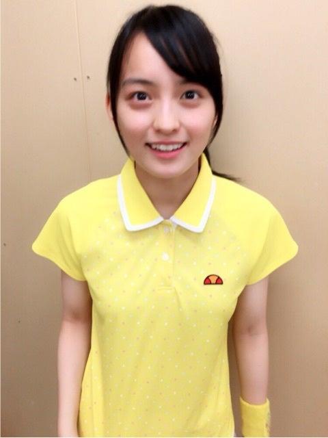 可愛いウェアの清井咲希