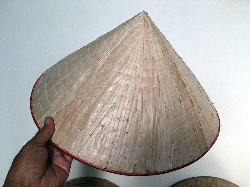 自然派で行こう♪ベトナムのノンラーと日本の菅笠