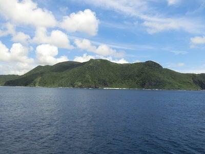 久米島全景