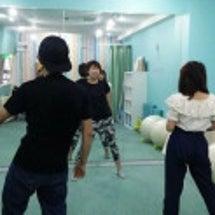 3世代交流ダンス撮影…
