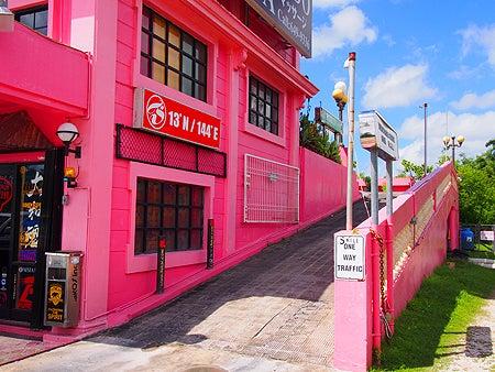 ピンクの街並みとも呼ばれてるっぽい パー