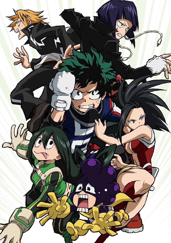 あずきのアニメ日和『僕のヒーローアカデミア』Blu-ray&DVD 第4巻