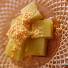 比較研究コーンスターチde抹茶わらびもちと米粉deわらびもち の画像