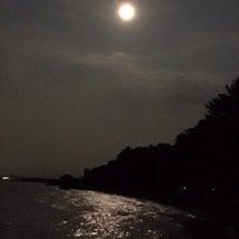 昨夜の満月から