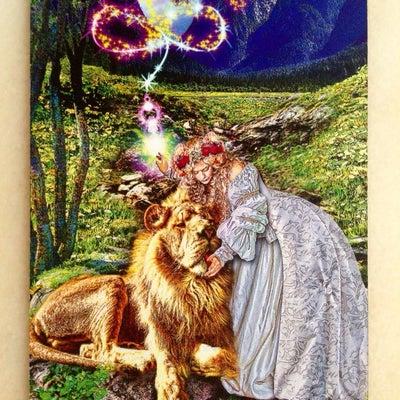 今日の美オーラオラクルカードの記事に添付されている画像
