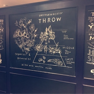 OROの黒板アートの画像