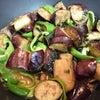 茄子とピーマンの味噌炒め♪(^o^)の画像
