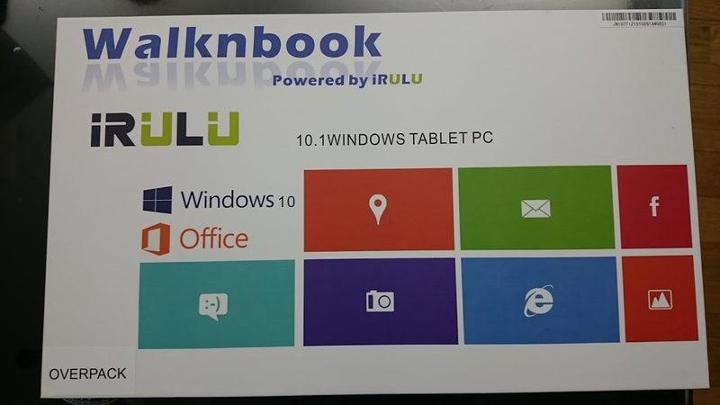 iRULU Walknbook W2 レビュー | メンヘラ大学院生の愚痴