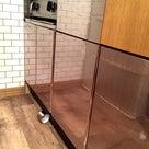vamoに合わせてキッチン改造中〜簡単お手軽なシートで無機質な厨房っぽく〜の記事より