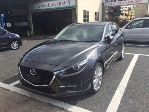 Mazda Cx 3 >> アクセラ マシーングレー ニューカラー   MAZDA マツダオートザム岡山北のブログ