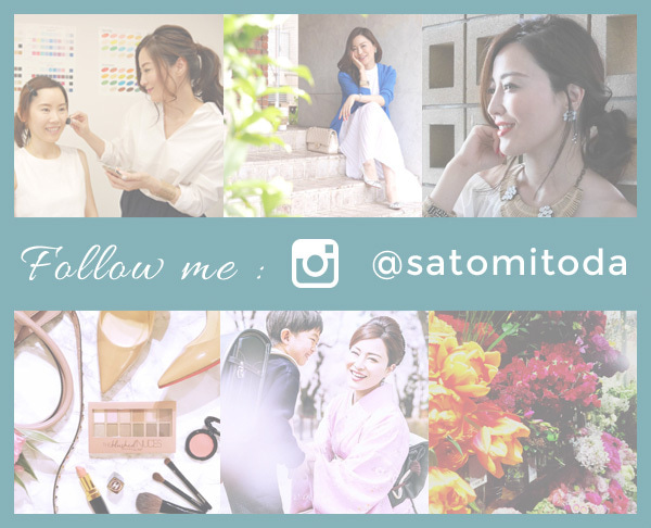 Follow me @satomitoda