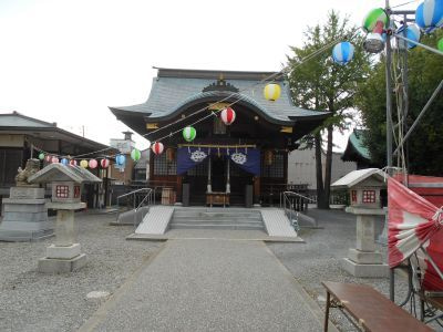 福井市で神社めぐり (杉杜白髭神社)