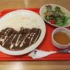 福生市民会館内の四十雀カフェで和牛入りハヤシライスの画像