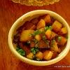 腸を綺麗に♪こんにゃくと山芋のおかか煎りと夏野菜カレー弁当の画像