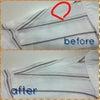 シャツの穴 修理の画像