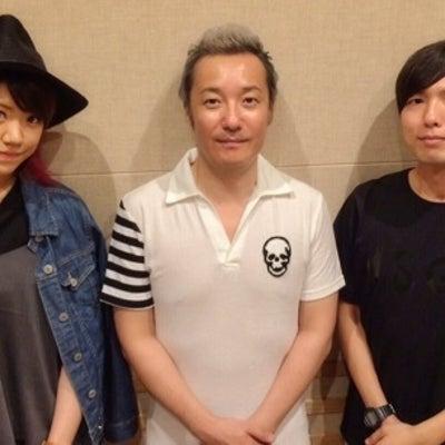 小野坂様と神谷様と魚。UOの記事に添付されている画像