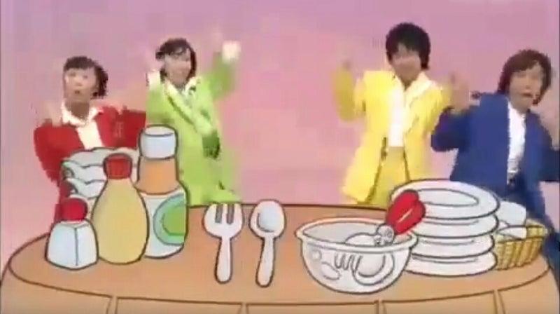 いっしょ サラダ と ラップ で おかあさん