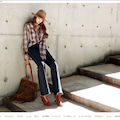 #セレブファッションの画像