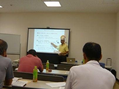 新潟県表具内装組合主催の販促セミナーの様子