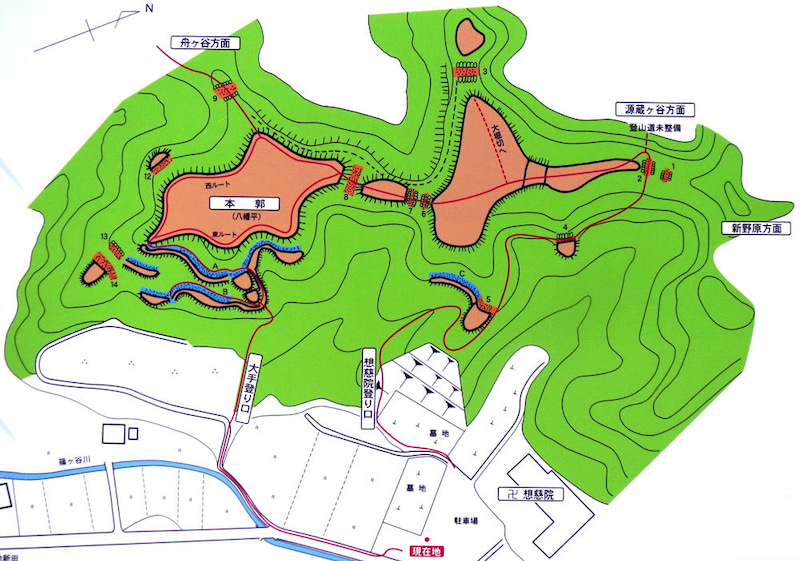 【写3】八幡平の城
