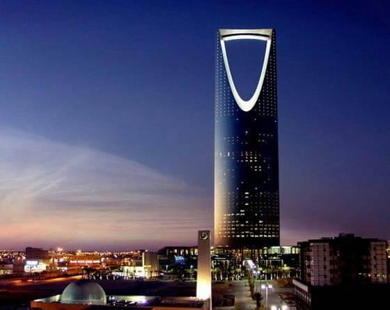 サウジアラビアで最高層のキングダムセンター