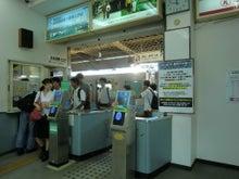 魚津駅改札口風景