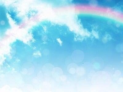青空と虹2