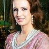 【モロッコ王室】ピンク×シルバー ラーラ・サルマ妃 の画像