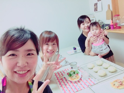大阪市パン教室 パン教室開業 パン講師キャラパン