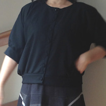 裾がとんがったスカートできましたの記事に添付されている画像