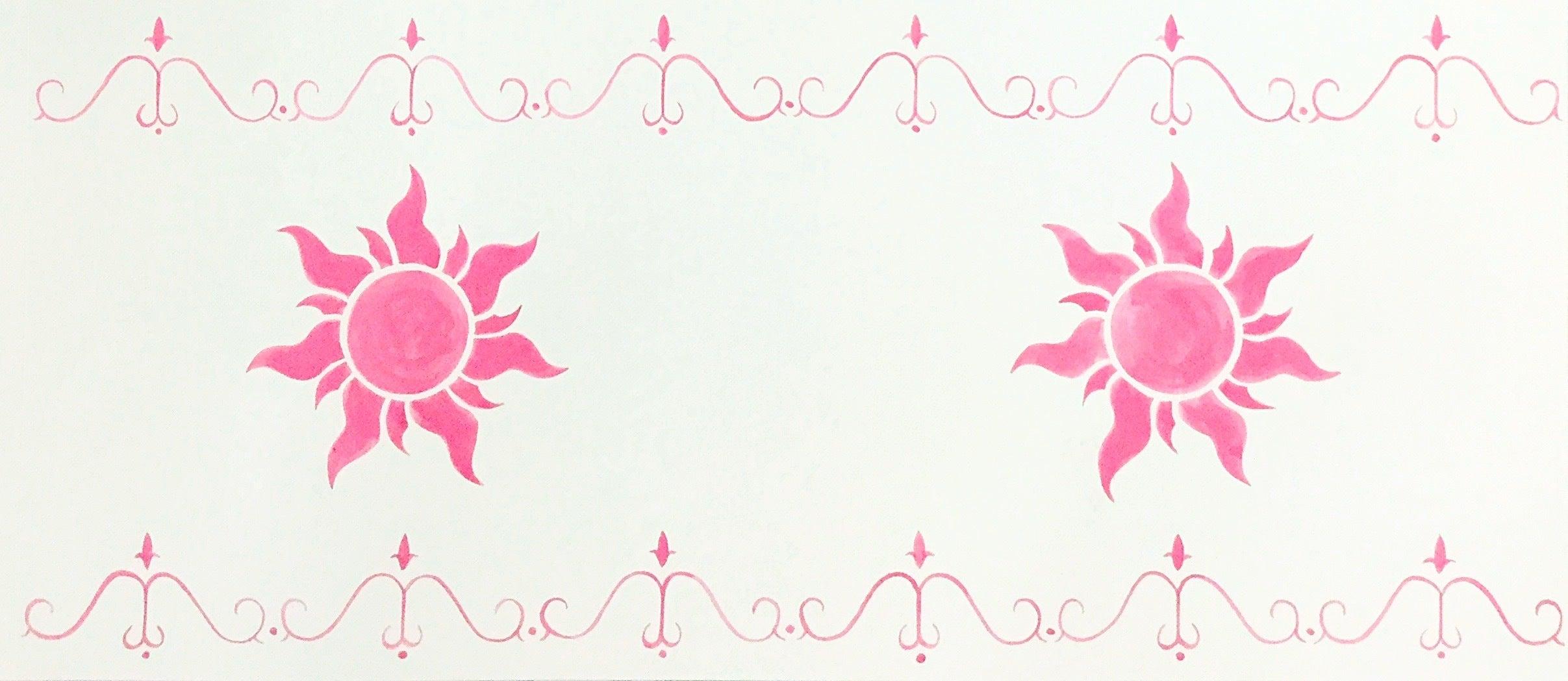以前のランタンの紙を撮影したものを、普通のコピー用紙に印刷しました。
