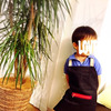 【mama's handmade】100均の材料でキッズエプロン&十五夜◡̈⃝⋆*の画像