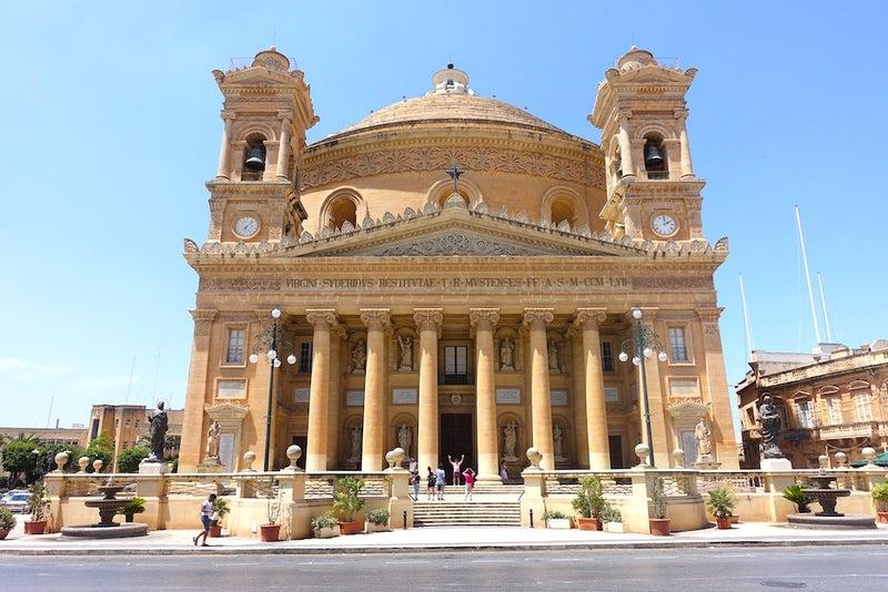 マルタ観光 モスタドーム