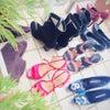 靴の衣替えの画像