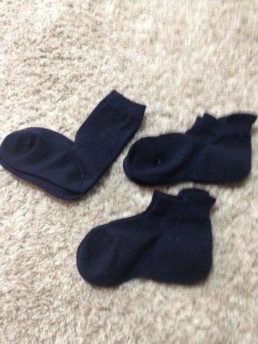 さて、子供達の靴下といえば無印のものを愛用中