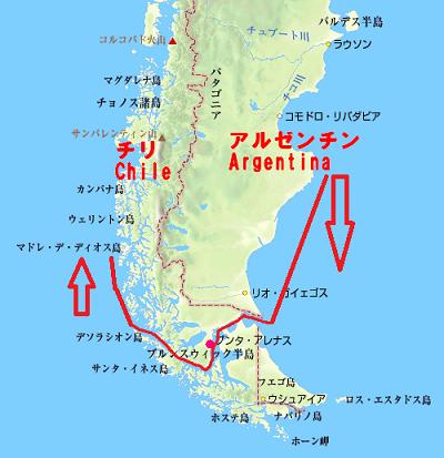 アルゼンチンの川下り、ブエノスアイレス沖で給油、そしてマゼラン海峡通過 | 船乗りさんのブログ