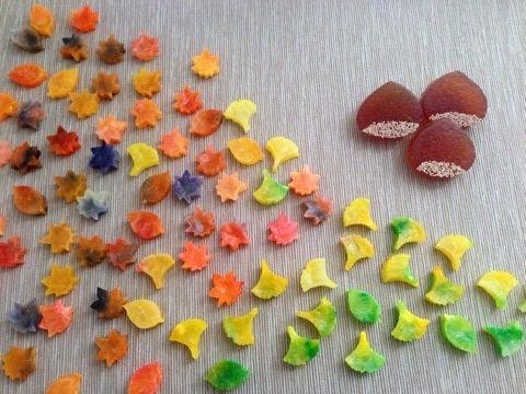 錦秋の琥珀糖 栗