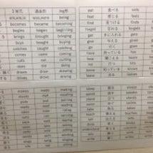 英検4級の受検予定。