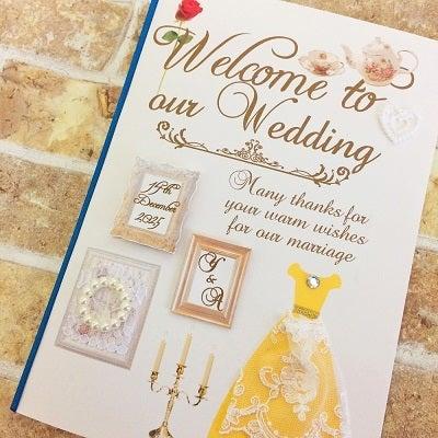 結婚式招待状・席次表・席札専門店ARARS(アラース)美女と野獣をイメージしたペーパーアイテム。招待状・席次表・席札結婚式への準備期間もふたりの素敵な思い出となりますように