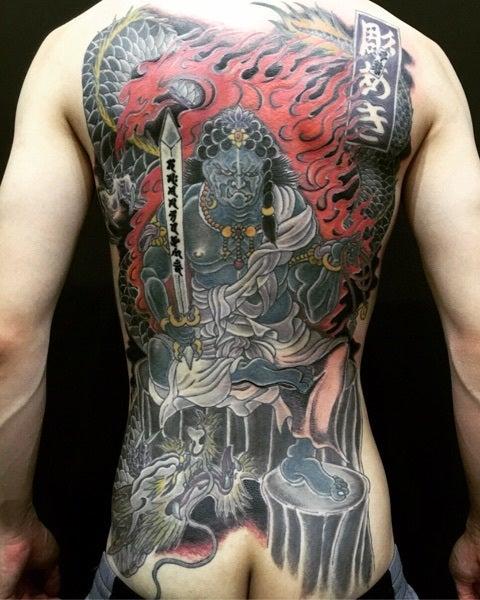 刺青 不動 明王