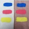 黒地用白地用塗り比べ040ライトカラーとベーシック黄おまけの画像