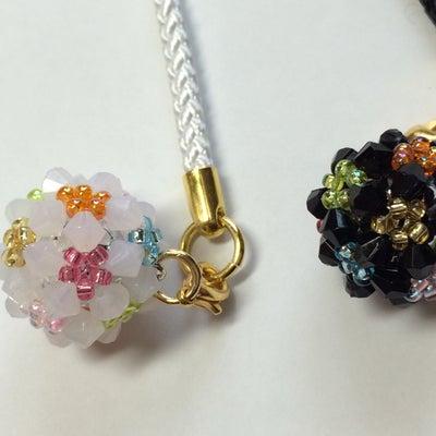 鈴入り花編みボールの作り方①♪の記事に添付されている画像