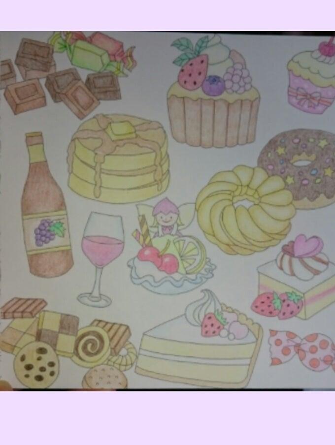 スイーツ塗り絵 Sayaのブログ
