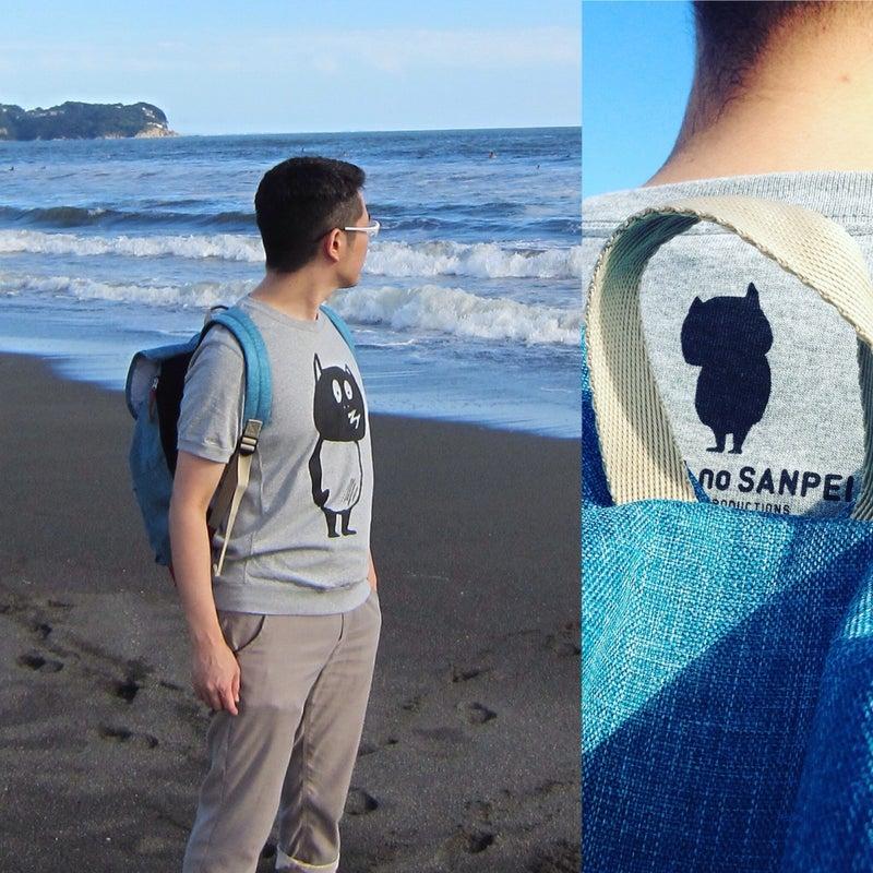 河童の三平 スウェット風Tシャツ