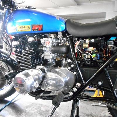 カワサキ Z750FOUR-D1 埼玉県 飯塚様、ステージ2納車整備中! Z75の記事に添付されている画像