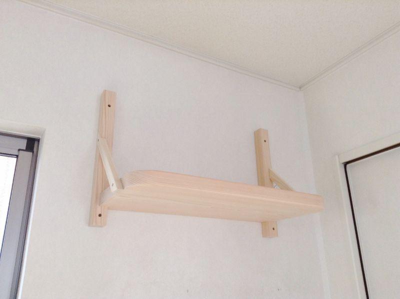 石膏ボード壁にアンカーを使って固定