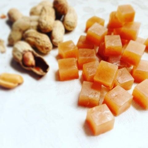 ピーナッツの琥珀糖