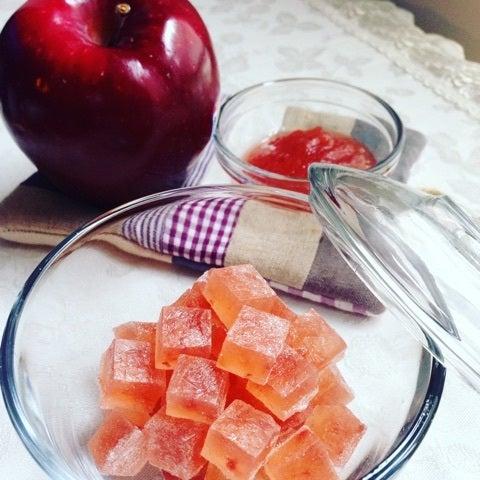 りんごのコンフィチュールの琥珀糖 作り方